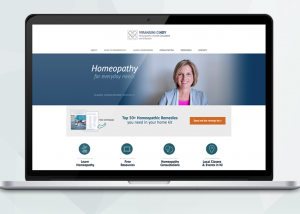 Homeopathy Web Design